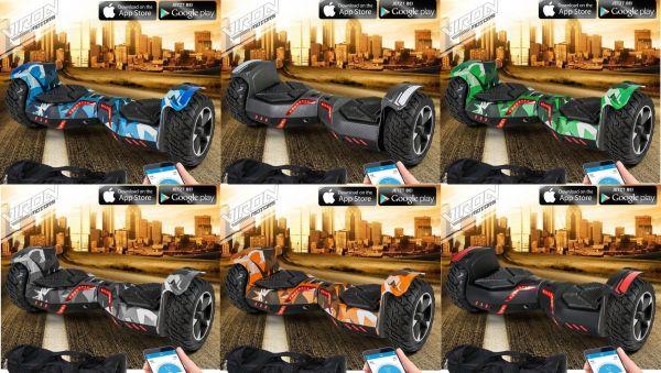E-Balance Scooter Board Ares (versch. Farben)