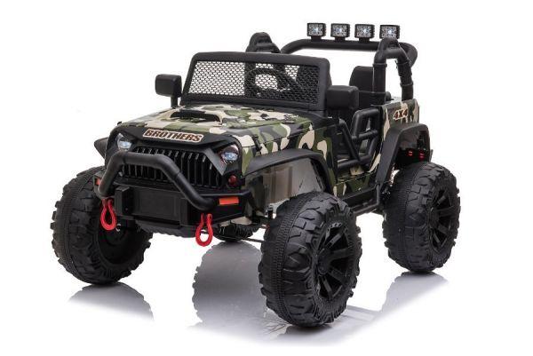Elektro Kinderauto Jeep Offroad Camouflage - 400 Watt