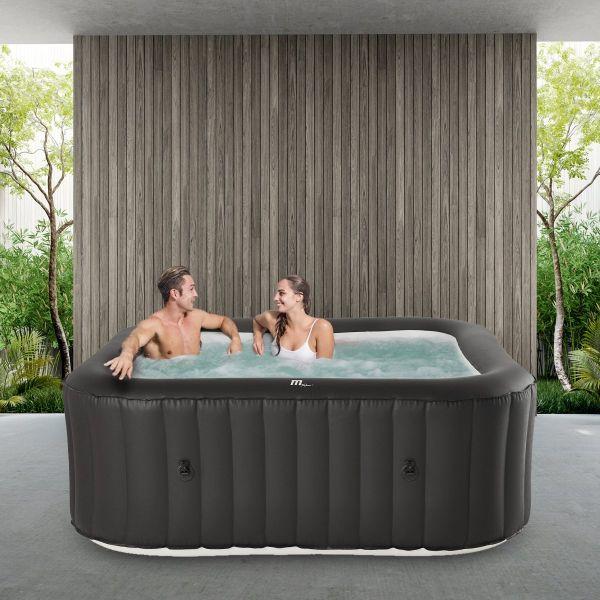 Whirlpool Urban- Garten & Outdoor-Whirlpool aufblasbar, 6 Personen