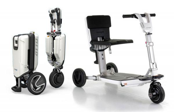 ATTO – das klappbare Elektro Dreirad Mobil als Mobilitätshilfe