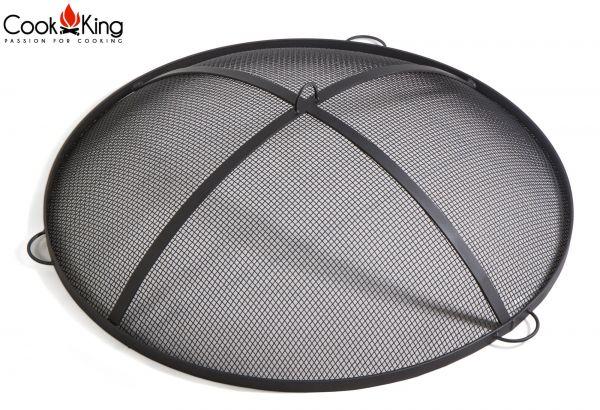 Zubehör Abdeckung / Gitter / Funkenschutz / Haube für Feuerschale CookKing - 3 Größen