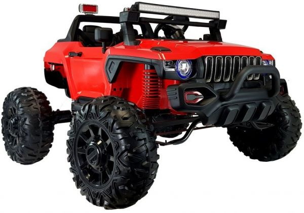 Kinder-Elektrofahrzeug 2-Sitzer Jeep QLS-618B 4x45 Watt