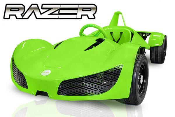 Kinder Elektro Rennwagen 1000 Watt GT Racer, 35 km/h, Sportauto für Kinder
