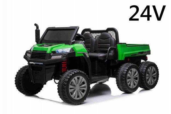 Elektro Kinderfahrzeug 2-Sitzer Farm Rider 6x6, 4x100 Watt 24 Volt