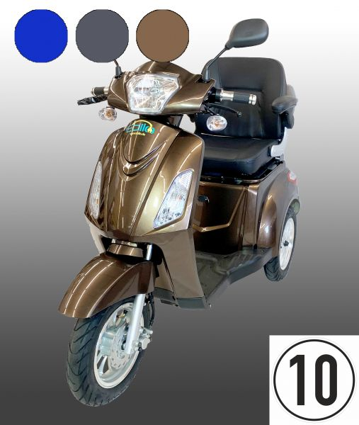 Ebilo 3-Rad Mobil mit Trommelbremse - 3-Rad Roller