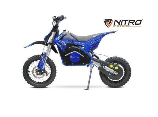 Kinder Crossbike NITRO 1200W Serval Eco Lithium - Dirtbike E-Cross