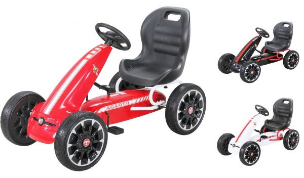 Kinder Pedal Go Kart Abarth FS595 - Kettenantrieb