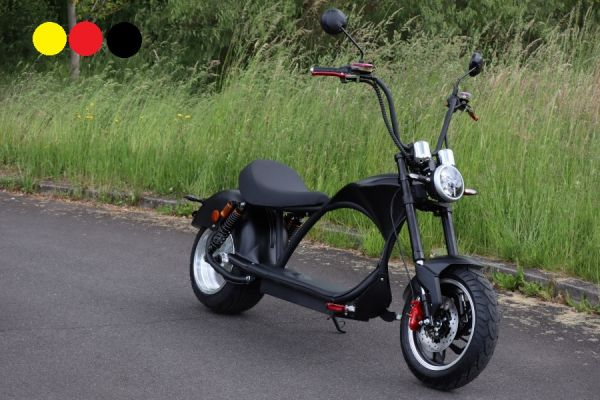 Elektroroller Coco Bike E-Chopper 2000 Watt