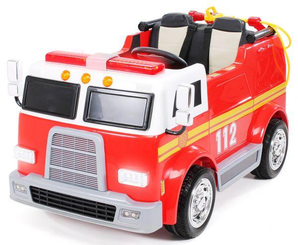 Elektro Kinderauto 2 Sitzer Feuerwehr 112
