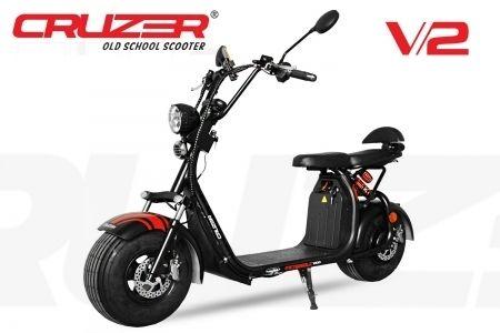 Elektroroller Scooter Eco Cruzer V2 1500 Watt