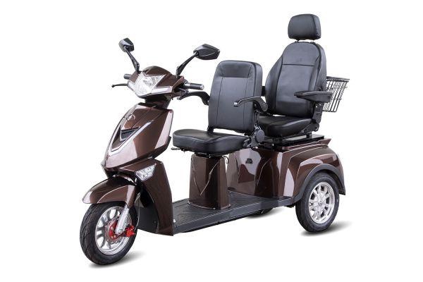 Seniorenmobil Senio 3-Rad Roller Comfort XL 2 Sitzer