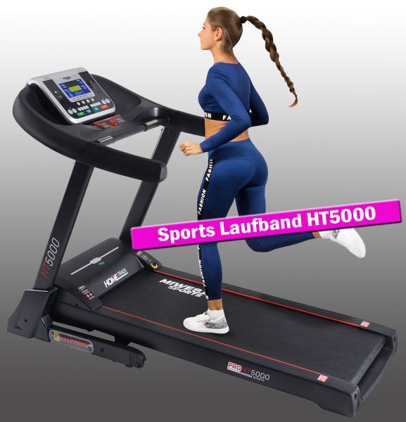 Sports Laufband Home Track HT5000 - 18 km/h - klappbar