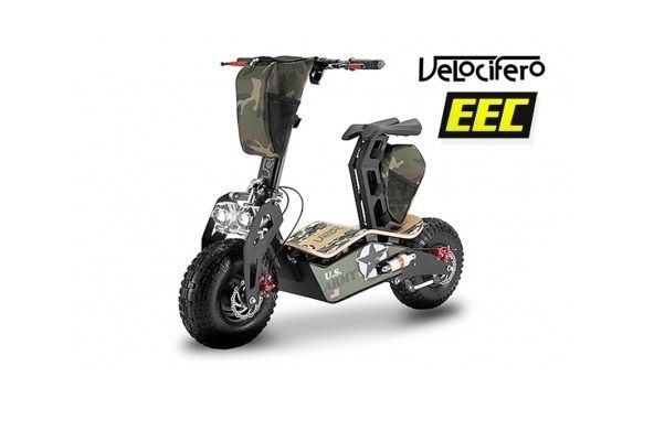 Elektroroller Scooter Velocifero 810 Watt EEC MAD