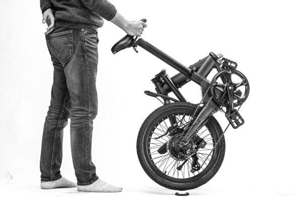 E-Bike Hoobike - faltbares Elektrofahrrad, 20 Zoll