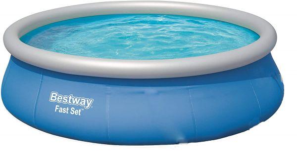Bestway Fast Set Pool, rund 396 x 84 cm, ohne Pumpe, Schwimmbecken