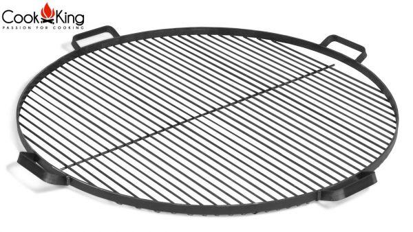 Zubehör Rost, Grillrost mit Griffen aus Stahl rund für Feuerschale CookKing