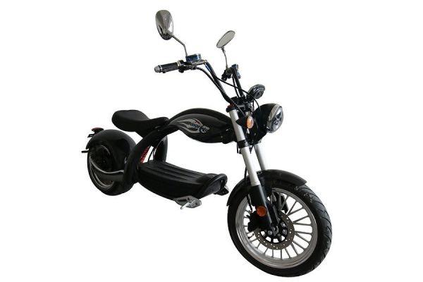 Elektroroller Scooter Coco Bike E-Chopper 2000 Watt