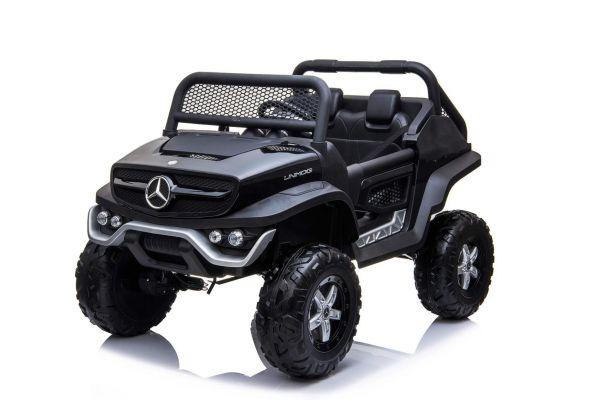 Elektro Kinderauto 2-Sitzer Mercedes Benz Unimog