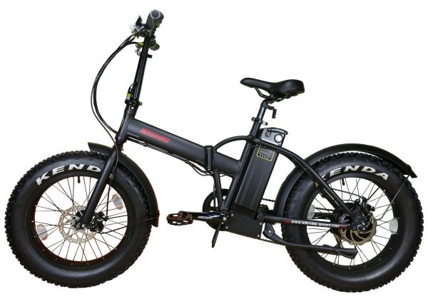 Ebike Elektrofahrrad e-Fatbike Klapprad Waymag WMX20 - 500 Watt