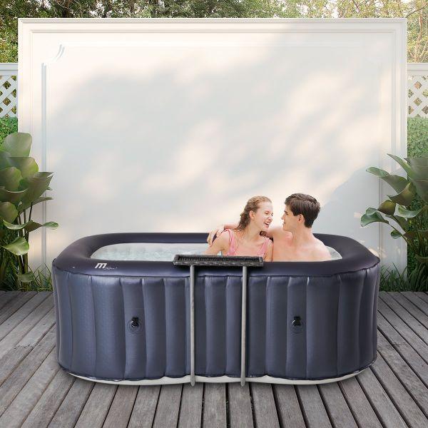 Whirlpool Urban Nest - rechteckiger Garten & Outdoor-Whirlpool aufblasbar, 2 Personen