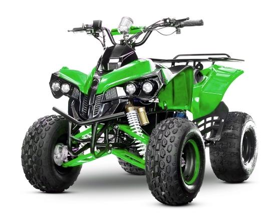 Elektro Kinderquad Warrior Eco Midi Quad 1000W S8 48V 8 Zoll Wellenantrieb