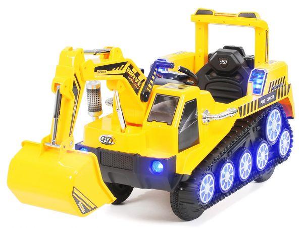 Elektro Kinderbagger D2811 - Einsatzfahrzeug für Kinder
