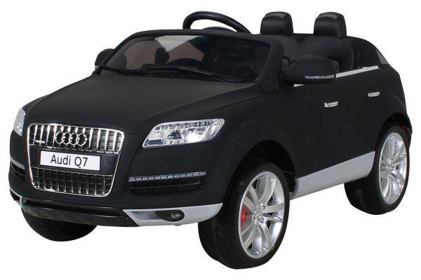 Elektro Kinderauto 2 Sitzer Audi Q7 lizenziert schwarz-matt
