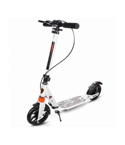 Scooter URBAN mit Stoßdämpfern und Scheibenbremsen