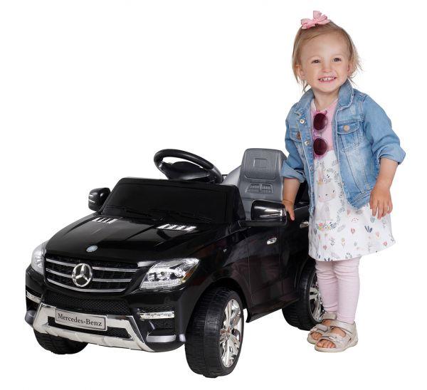 Original Mercedes Lizenz im elektrischen Kinderauto ML350 - 3 Farben