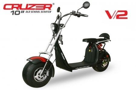 Elektroroller Scooter Eco Cruzer S10 V2 1500 Watt