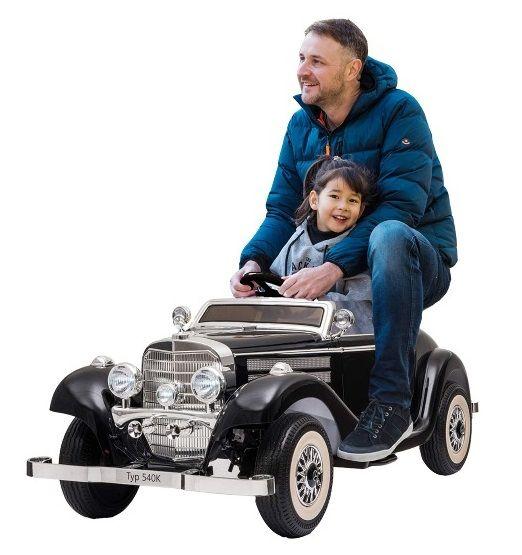 Elektro Kinderauto Mercedenz Benz 540K - Oldtimer