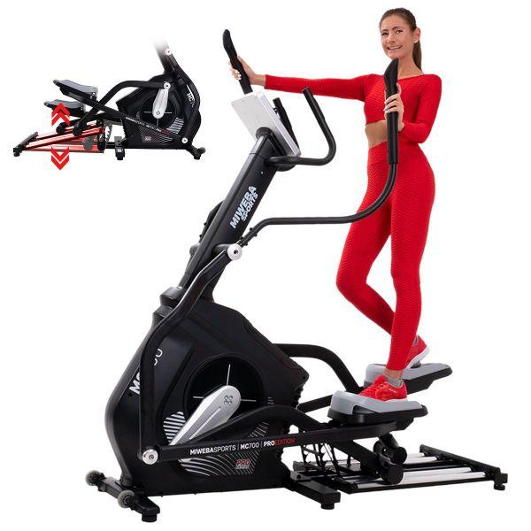 Sports Crosstrainer MC700 mit 12 Trainingsprogrammen